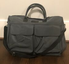 Large Carry-on Travel Duffel Business Bag/ Sports Gym Bag Waterproof Grey