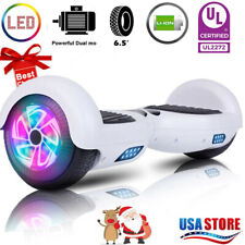 6.5 Hoover board Chrome Hoverboard Electric Balancing no Bluetooth Scooter nobag
