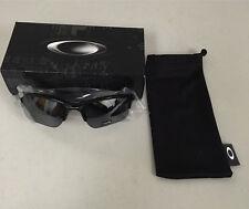 Oakley Quarter Jacket Sunglasses Polished Black Frame/Black Iridium Youth Fit