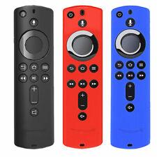 Estuche con Cubierta Protectora de Silicona Recubrimiento para Amazon Fire TV Stick 4K Control Remoto