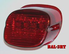 Bright Ass Lights LED Taillight for Harley Davidson - Laydown with Tag Window