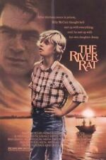 THE RIVER RAT ORIGINAL FOLDED MOVIE POSTER 1984 TOMMY LEE JONES BRIAN DENNEHY