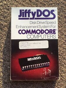 JiffyDos Disk Drive Speed Enhancement System Commodore 128