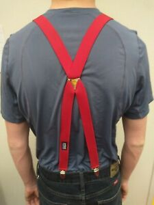 Patagonia Men's One Size Red Suspenders