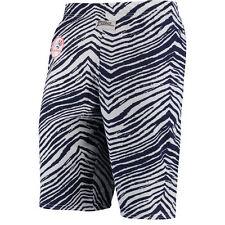 New York Yankees MLB  Zubaz Zebra White Blue Lounge Shorts Size Medium