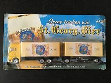 MAN Truck with trailer St. Georg Bier Beer - 1:64 Advertisement