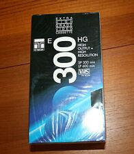3 Stück neue Videokassetten TRISTAR - E 300 - EHG - original eingeschweißt !!!