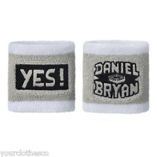 WWE AUTHENTIC DANIEL BRYAN YES WRISTBANDS NEW YES YES YES RESPECT THE BEARD