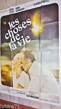 romy schneider LES CHOSES DE LA VIE ! claude sautet affiche cinema vintage 1970