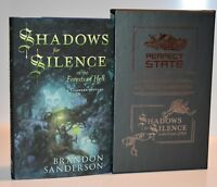 SIGNED & #'d LTD EDITION Shadows for Silence, Perfect State Brandon Sanderson HX