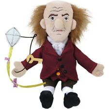 "BEN FRANKLIN Benjamin plush doll 11"" toy Little Thinker FOUNDING FATHER"