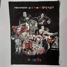 Sex Pistols - The Great Rock N Roll Swindle - Vintage Fabric Back Patch - 1980'S