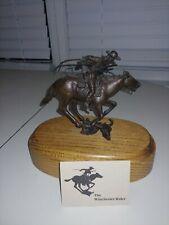 The Winchester Rider Limited Edition Bronze Statue