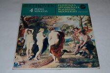 Beethoven 4 Piano Sonatas~Orazio Frugoni~Pathetique~Vox GBY 11.570~FAST SHIPPING