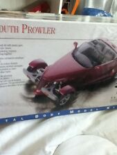Testors Plymouth Prowler 1:43 Die Cast Metal Model Kit Car Automobile Hot Rod