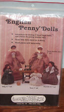 English Penny Dolls Patterns by Gooseberry Hill