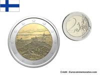 2 Euros Commémorative Finlande 2018 Parc Koli UNC