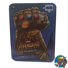 Marvel Avenger Surprise Puzzle Tin   fun mcu pastime