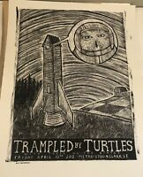 2012 Trampled by Turtles Metro Chicago Gig Concert Poster 18 X24 Screen Print