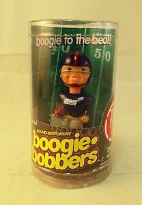 NFL NY Giants Retro 1960's Style Mini Bobble Head Boogie Bobbers Sound Activated