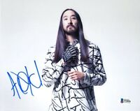 STEVE AOKI SIGNED AUTOGRAPHED 8x10 PHOTO DJ EDM MUSIC LEGEND RARE BECKETT BAS
