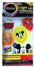 ILLOOMS LIGHT UP BALLOONS 5 PACK: MICKEY MOUSE & FRIENDS