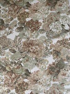 Edinburgh Weavers GIANT FLORAL Curtain/Upholstery Fabric 3m Piece 100% Cotton