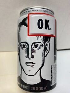 HARD TO FIND 1994 OK COCA-COLA CAN-50% FULL-FAILED PRODUCT
