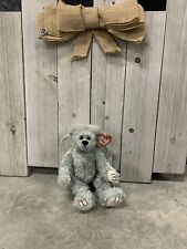 Ty Beanie Baby Attic Treasures Collection Sterling Silver Angel Bear Error Tag