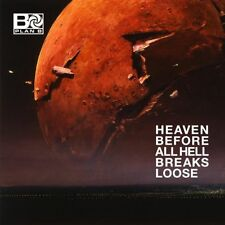 PLAN B HEAVEN BEFORE ALL HELL BREAKS LOOSE CD (Released May 4th 2018)
