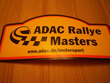 Aufkleber ADAC Rallye Masters