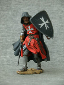 Hospitaller in a raincoat. SCALE1/24 75 mm Collectible painting tin soldier