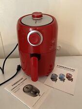 Farberware 1.9-Quart Compact Oil-Less Fryer, Red