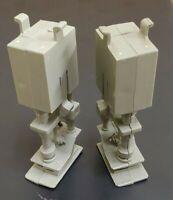 (2) Vintage 1979 Kenner Star Wars Millennium Falcon Landing Gear Leg Part Strut