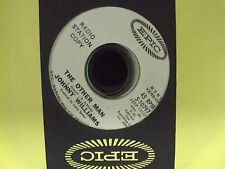 """JOHNNY WILLIAMS The Other Man mono/stereo 7"""" 45 promo early-70's soul"""