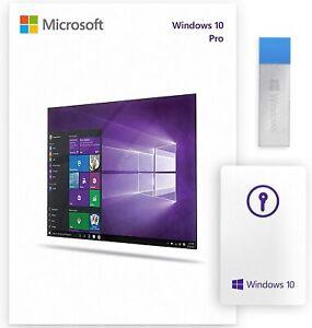 Microsoft Windоws 10 Pro  Professional USB 32/64 BIT FQC-08788 (SEALED)