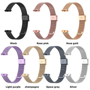Metal Watch Strap Watch Buckle Strap Wristband Spare Parts for Fitbit Luxe