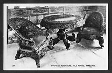 C1960s View of Burmese Furniture, Old House, Margate