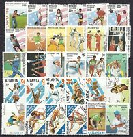 Collection Packet of 30 Different OLYMPIC GAMES SPORTS Stamps of the World