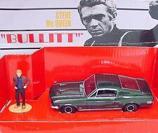 Corgi Toys 1:36 STEVE McQUEEN BULLITT FORD MUSTANG 1968 Cult Movie Car MIB`02!