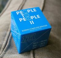 Boeing Computer Service Paper Weight People to II Awareness Choice Control Blue