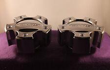 LIMITED CHROME CUSTOM Wheel Center Caps (SET OF 2) P/N # LZ-053-5H-2 S805-11