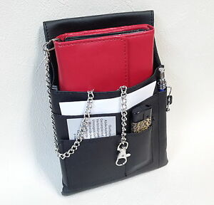 Waiter Exchange Waiter Pocket Taxi Wallet Holster 3 PC Set Or Single Leather