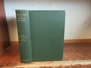 Old APOSTOLIC AGE OF CHURCH HISTORY Book ANCIENT HOLY LAND MISSIONARY BIBLE GOD
