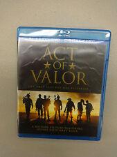 Act of Valor (Blu-ray/DVD, 2012, 2-Disc Set,) Discs=Near Mint Case=Good