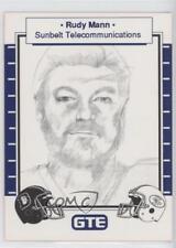 1990 GTE Super Bowl XXIV Corporate Sponsors #RUMA Rudy Mann Non-Sports Card 0q3