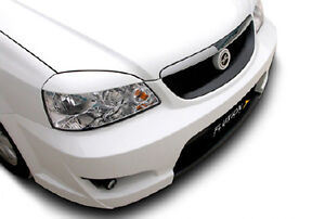 Headlight Eyebrow Eyelid Silver 2p For 04 08 Chevy Suzuki Forenza : Lacetti