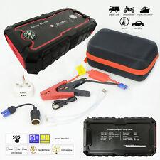 22000mAh Portable Car Jump Starter Battery Charger Dual USB Port Power Bank DIY