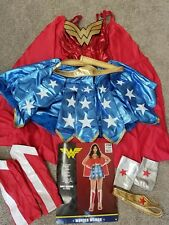 Excellent! (Adult Medium) DC Comics WONDER WOMAN 8-Piece Costume