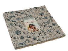 """Moda FABRIC Layer Cake ~ GARDEN NOTES ~ by Kathy Schmitz  42 - 10"""" squares"""